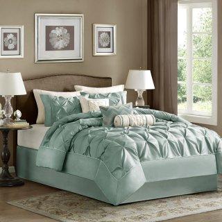 MADISON PARK(マディソンパーク)  ベットリネン7点セット*Laurel 7-piece Comforter Set/Seaform