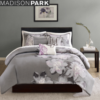 <img class='new_mark_img1' src='https://img.shop-pro.jp/img/new/icons55.gif' style='border:none;display:inline;margin:0px;padding:0px;width:auto;' />MADISON PARK(マディソンパーク) /ベットリネン6点セット*Alicia Cotton 6-piece Printed Duvet Cover Set