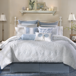 Harbor House(ハーバーハウス) 掛け布団4点セット*Crystal Beach 4piece Comforter Set