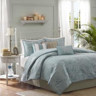MADISON PARK(マディソンパーク) /シーサイド掛け布団7点セット* Seaside 7-Piece Comforter Set