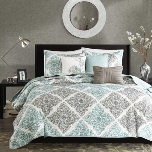 MADISON PARK(マディソンパーク) /ベットリネン6点セット* Montecito 6-Piece Quilted Coverlet Set