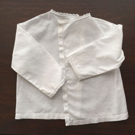 ベビーリネン・ベビー服(刺繍あり)