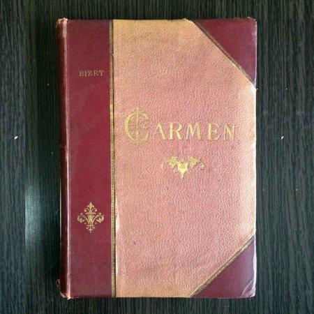 中古楽譜 CARMEN