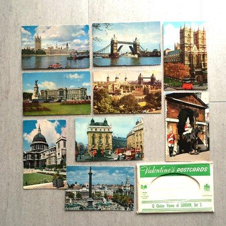 ヴィンテージポストカード ロンドン観光 9枚セット