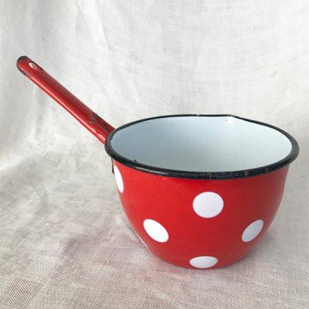 赤ドット小鍋