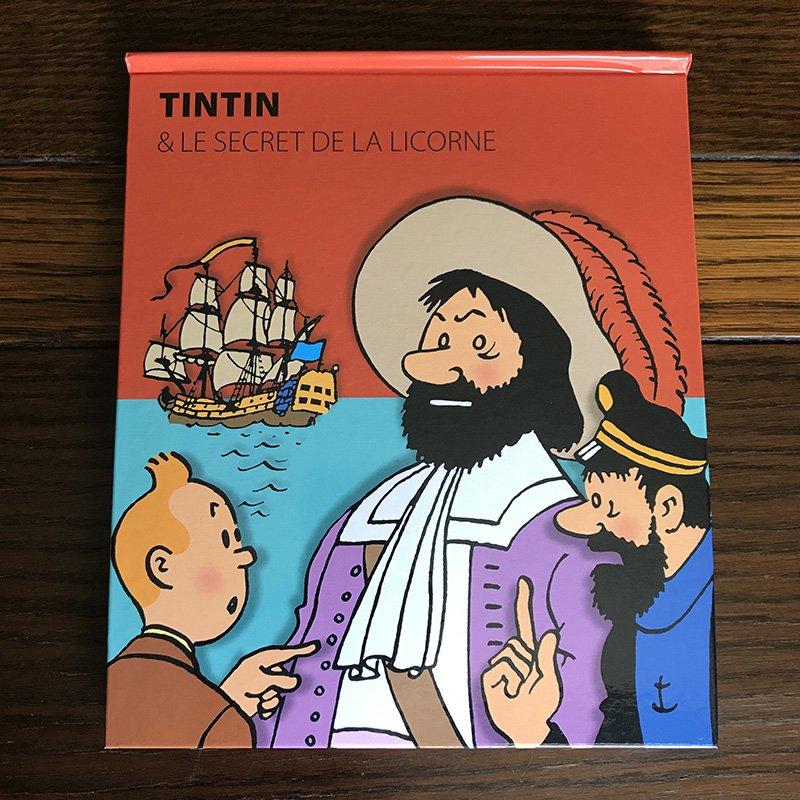 TINTIN タンタンの冒険 しかけ絵本