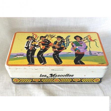 TIN缶 バグパイプ隊 焼き菓子のカンカン