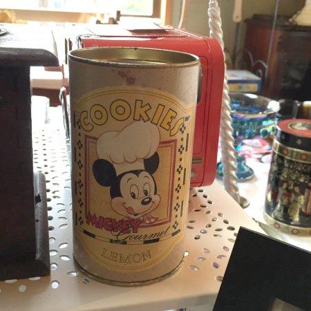 紙箱 ビンテージ ミッキーマウスシェフ