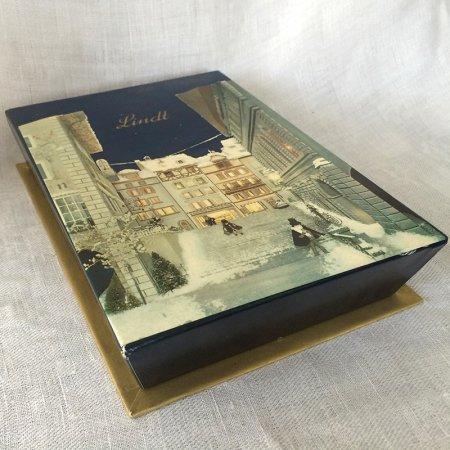 紙箱 Lindt冬のパッケージ