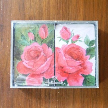 未開封 華やかな薔薇のトランプ/Hallmark