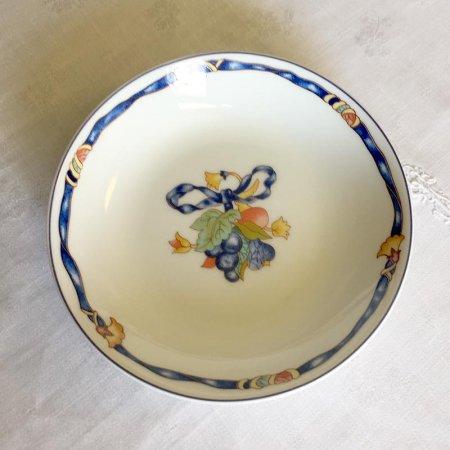 リモージュ ベルナルド 青いリボンのボーケーズ 小ボール Limoges