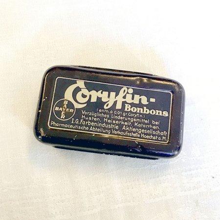 TIN缶 BAYER BAYER 手のひらサイズ
