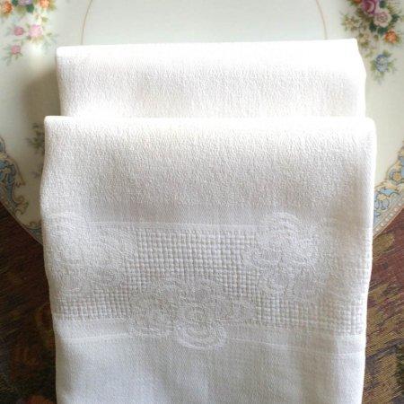 フレンチリネン ダマスク織テーブルナプキン 在庫2