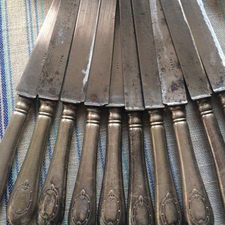 ヴィンテージ シルバープレート ナイフ