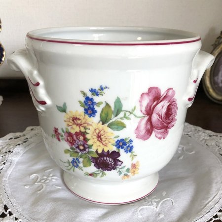 VISTA ALEGRE 陶器のフラワーベース・鉢カバー