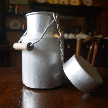 アルミ製 アンティークミルクポット