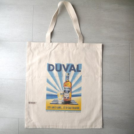 トートバッグ アルコール瓶 DUVAL