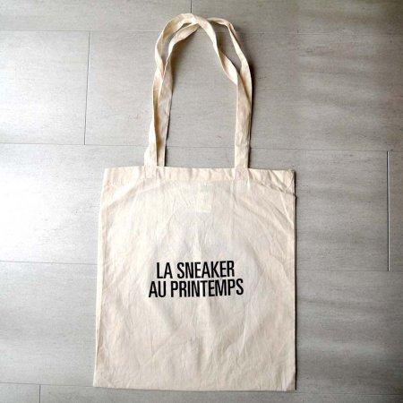 トートバッグ LA SNEAKER AU PRINTEMPS