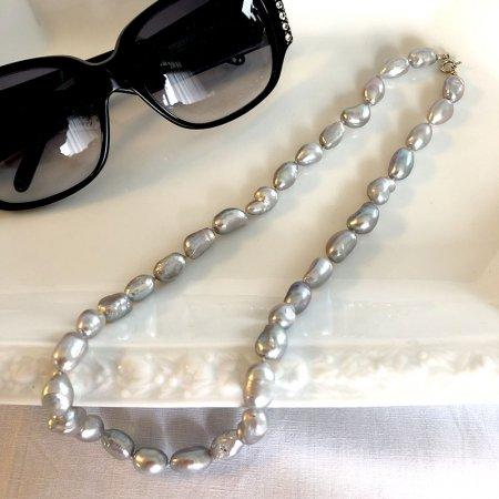 バロック真珠 ネックレス