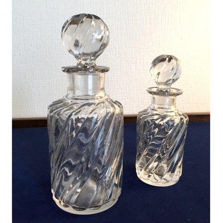 フランス 香水瓶 大小セット