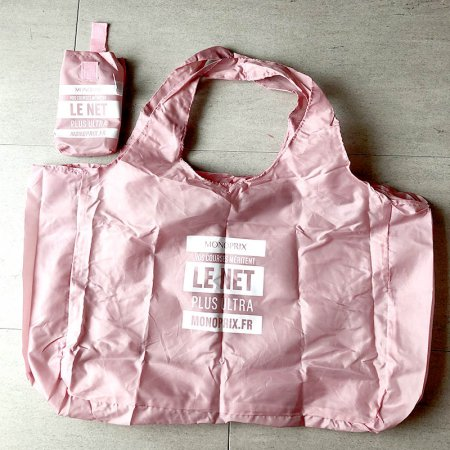 MONOPRIX エコバッグ LightPINK<img class='new_mark_img2' src='https://img.shop-pro.jp/img/new/icons14.gif' style='border:none;display:inline;margin:0px;padding:0px;width:auto;' />