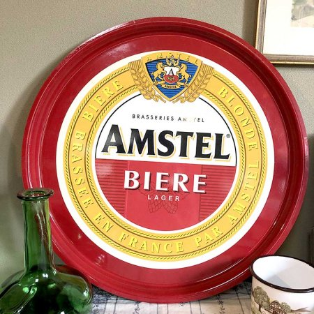 AMSTEL 赤いプラスチックトレー<img class='new_mark_img2' src='https://img.shop-pro.jp/img/new/icons14.gif' style='border:none;display:inline;margin:0px;padding:0px;width:auto;' />