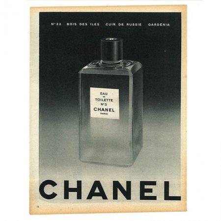 ヴィンテージフランス雑誌 1953年 2色CHANEL4P