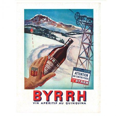 ヴィンテージフランス雑誌 1952年1月 カラーBYRRH2P