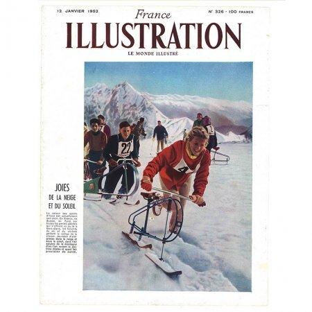 ヴィンテージフランス雑誌 1953年 表紙2P