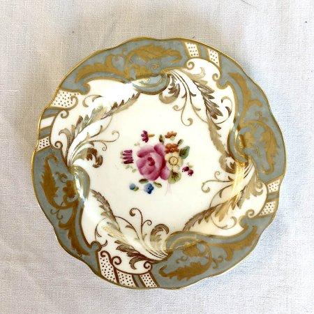 ハマースレイ 絵皿 小皿 花金彩 英国