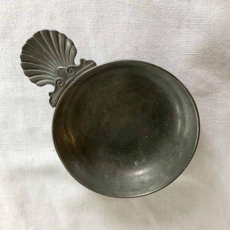 ワイン テイスティングトレー  ピューター(shell)錫