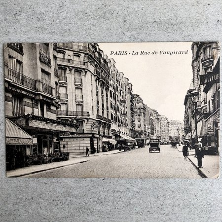 ポストカード パリ Vaugirard