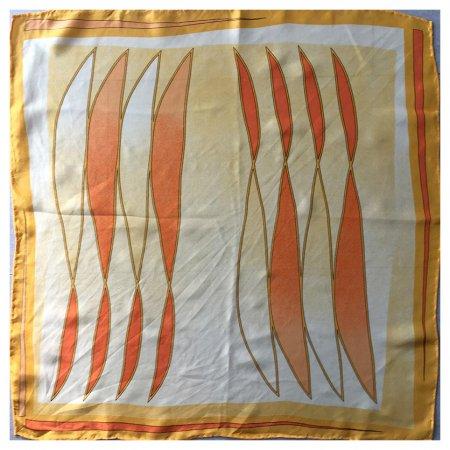 ミニスカーフ 黄色系  スカーフ