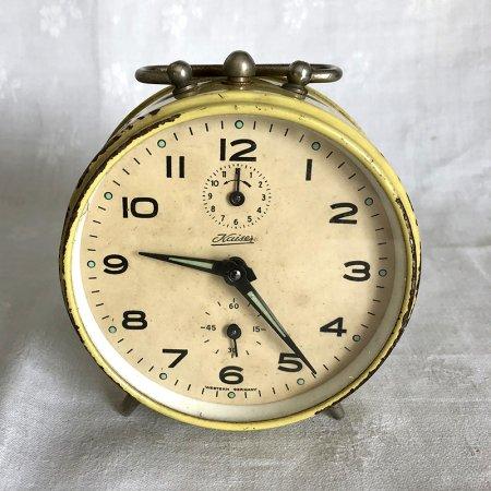レトロ 目覚まし時計 Kaiser ドイツ