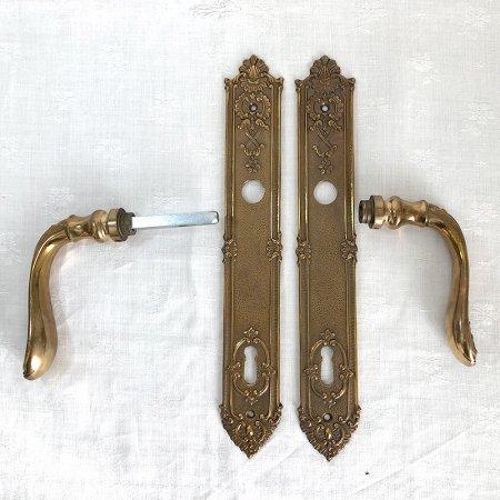 アンティーク ドア装飾金具  真鍮製