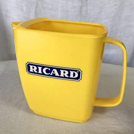 RICARD 水差し ジャグ  フランス・ブロカント*<img class='new_mark_img2' src='https://img.shop-pro.jp/img/new/icons47.gif' style='border:none;display:inline;margin:0px;padding:0px;width:auto;' />