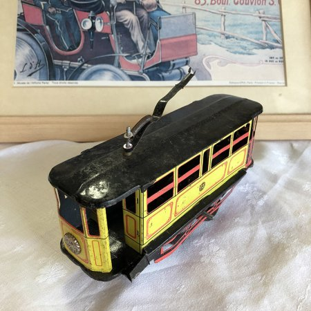 ブリキ おもちゃ トラム ケーブルカー 路面電車