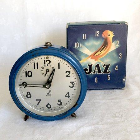 JAZ  目覚し時計 オリジナル箱入り フランス