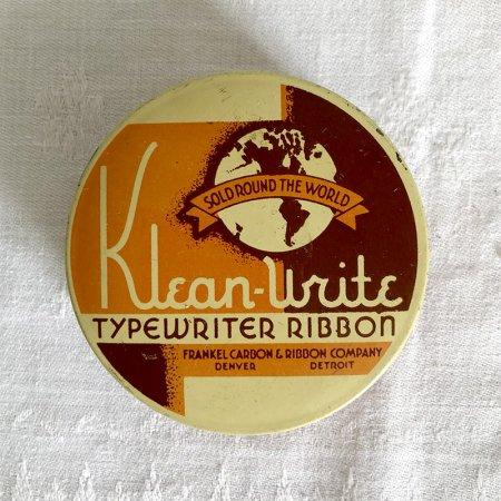 TINミニ缶 タイプライターリボンの丸缶