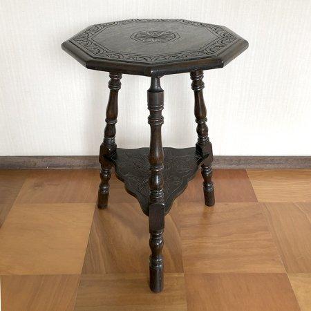 サイドテーブル 花台 トリポッドテーブル(三脚) 英国製