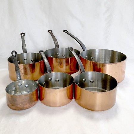 銅片手鍋 フランス料理 本格派銅鍋 使い勝手の良い厚さ1mm