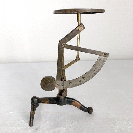 真鍮製 秤 スタイリッシュ フランスアンティーク