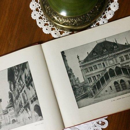 書籍 ヨーロッパ旅行記 クラシカルな書体が際立ちます
