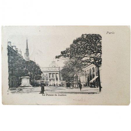 ポストカード -パリの建築物 9-<br>パリ司法宮