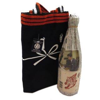 天領盃原酒(辛口)蔵元と新潟ふるさと村限定販売品と酒袋のセット