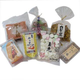 昔ながらの駄菓子7種セット