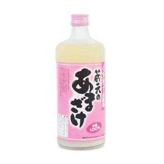 天領盃酒造 蔵元のあまざけ(ノンアルコール) 米麹100% 糖類・防腐剤無添加 720ml