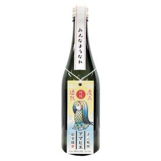DHC酒造 越乃梅里 吟醸原酒 アマビエ絵付き 500ml 新潟県の日本酒・地酒