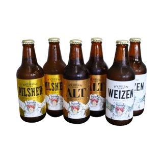 【南魚沼市のお土産】八海山ライディーンビール 330ml 3種×2本セット
