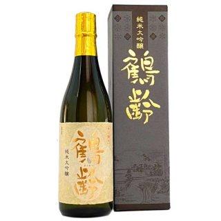青木酒造「鶴齢 純米大吟醸」 新潟県産越淡麗を100%使用 720ml